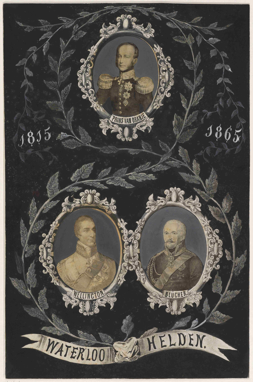 Waterloo Helden. 1815 1865, 1865, AVS 26065